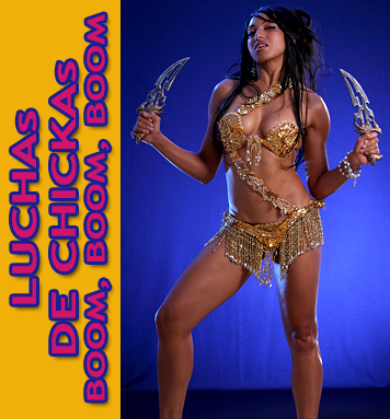 Victoria Vives Lucha de Chicas
